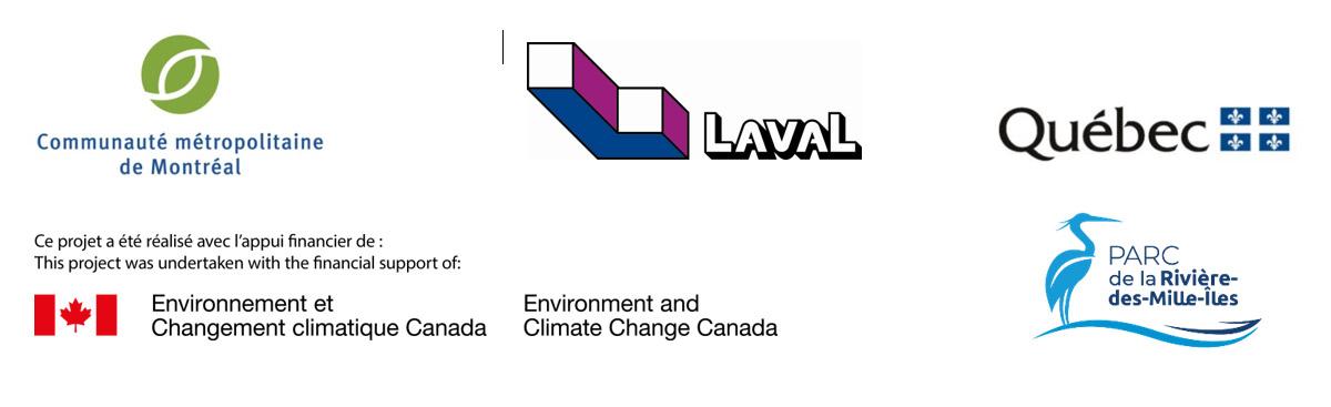 Logos des partenaires - Laval acquiert un terrain boisé à Sainte-Rose