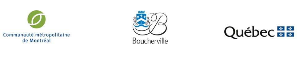 Logos, CMM Boucherville et Québec