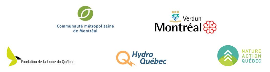 Logos partenaires - restauration et de mise en valeur des berges du lac des Battures, Verdun
