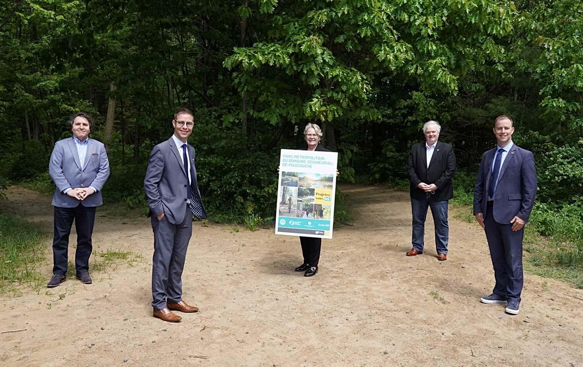 Photo officielle - Parc métropolitain du Domaine-Seigneurial-de-Mascouche