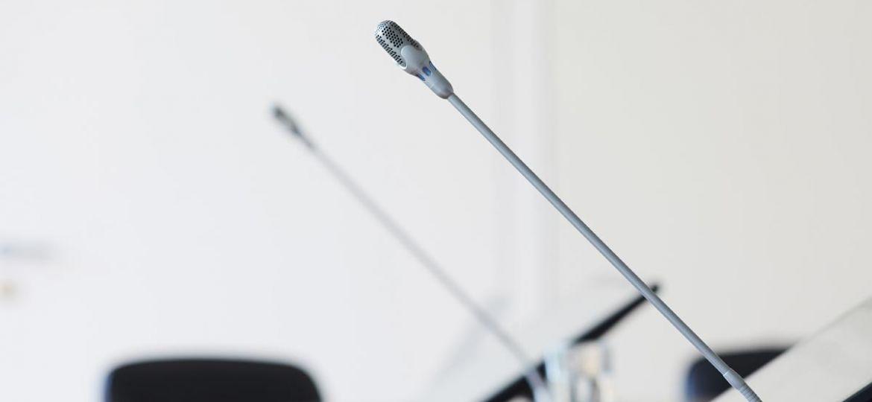 Microphones - Consultation publique