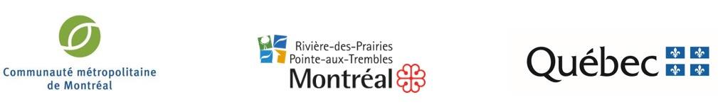 Logos - partenaires inauguration de la plage de l'Est
