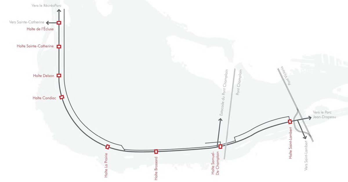 La Promenade fluviale du Grand Montréal | Haltes