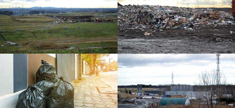 Couverture - Rapport de la commission de l'environnement sur l'élimination des matières résiduelles