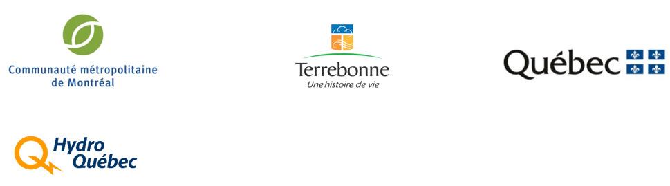 Logos partenaires - Secteur marais du parc de conservation du ruisseau de Feu