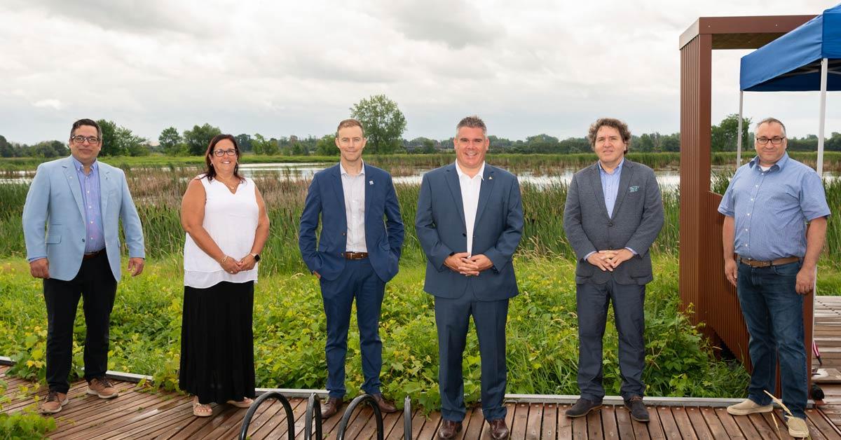 Ville de Terrebonne - Secteur marais du parc de conservation du ruisseau de Feu