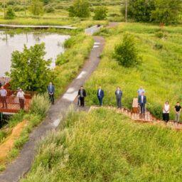Le secteur marais du parc de conservation du ruisseau de Feu est officiellement ouvert!