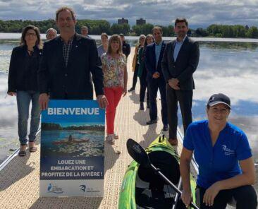 Représentants et élus - Location d'embarcations pour profiter de la rivière à Saint-Eustache