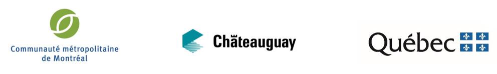 Logos : CMM, Châteauguay et Québec