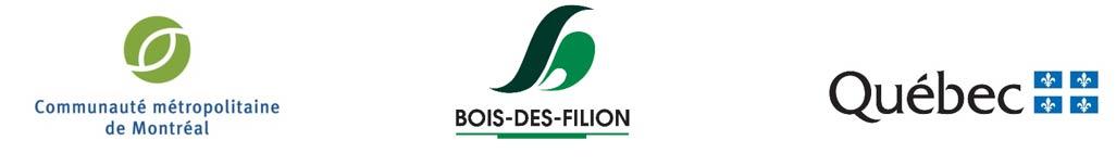 Logos partenaires - Centre de services du parc Riverain de Bois-des-Filion