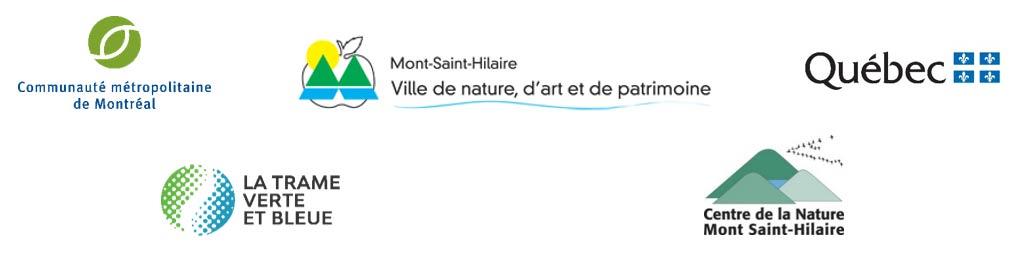 Logos partenaires - Réserve du Piémont-du-Mont-Saint-Hilaire